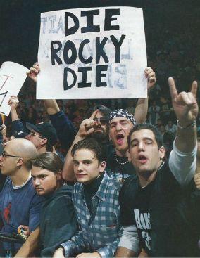 Dire que The Rock était accueilli comme ça à ses débuts !