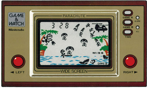 "Game & Watch ""Parachute"""