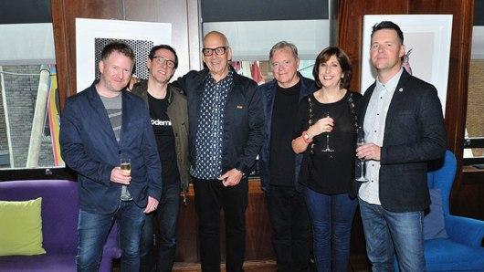 New Order et Daniel Miller de Mute Records