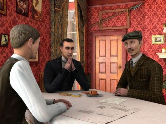Les Aventures de Sherlock Holmes : La Boucle d'Argent