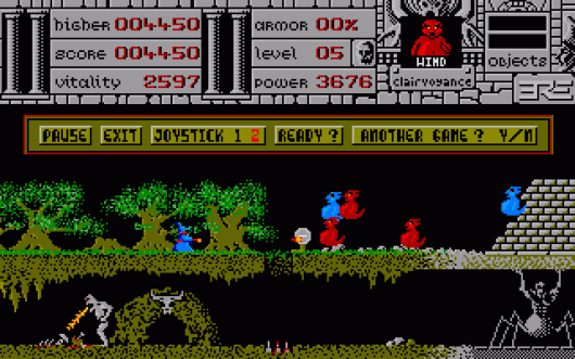 Warlock's Quest (1988 - ERE Informatique)