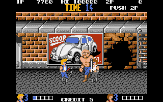 Double Dragon (Atari ST)