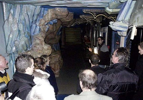 Visite guidée de l'attraction Aladin en 1989