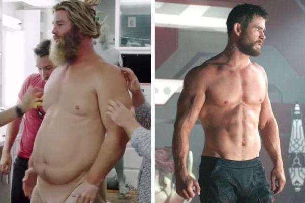 Thor et sa prothèse de surpoids