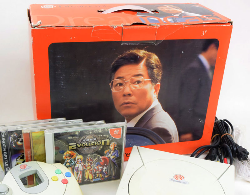 Packaging japonais de la Dreamcast